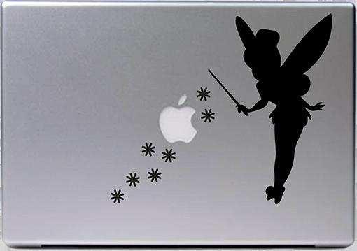 Details Zu Apple Macbook Air Pro 13 Tinkerbell Fee Naseweiss Peter Aufkleber Sticker 538